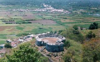 Beauty Hulondhalo Benteng Otanaha Obyek Wisata Sejarah Bangunan Peninggalan Cagar