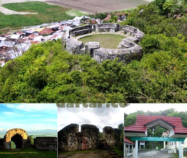 Benteng Otanaha Daftar Gorontalo Kab