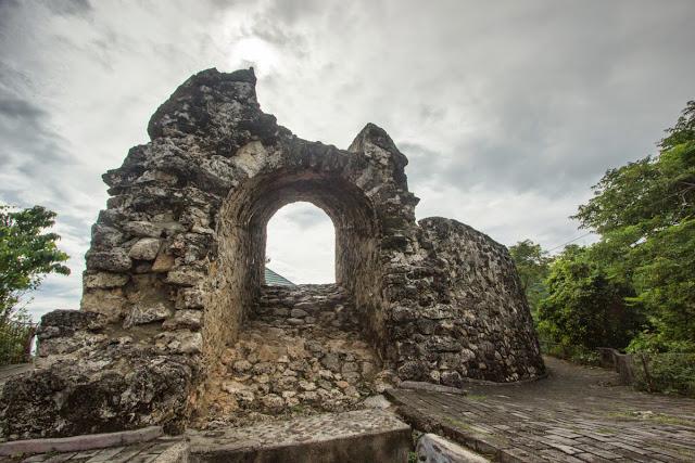 Benteng Otanaha Stay Gorontalo Objek Wisata Terletak Atas Bukit Kelurahan