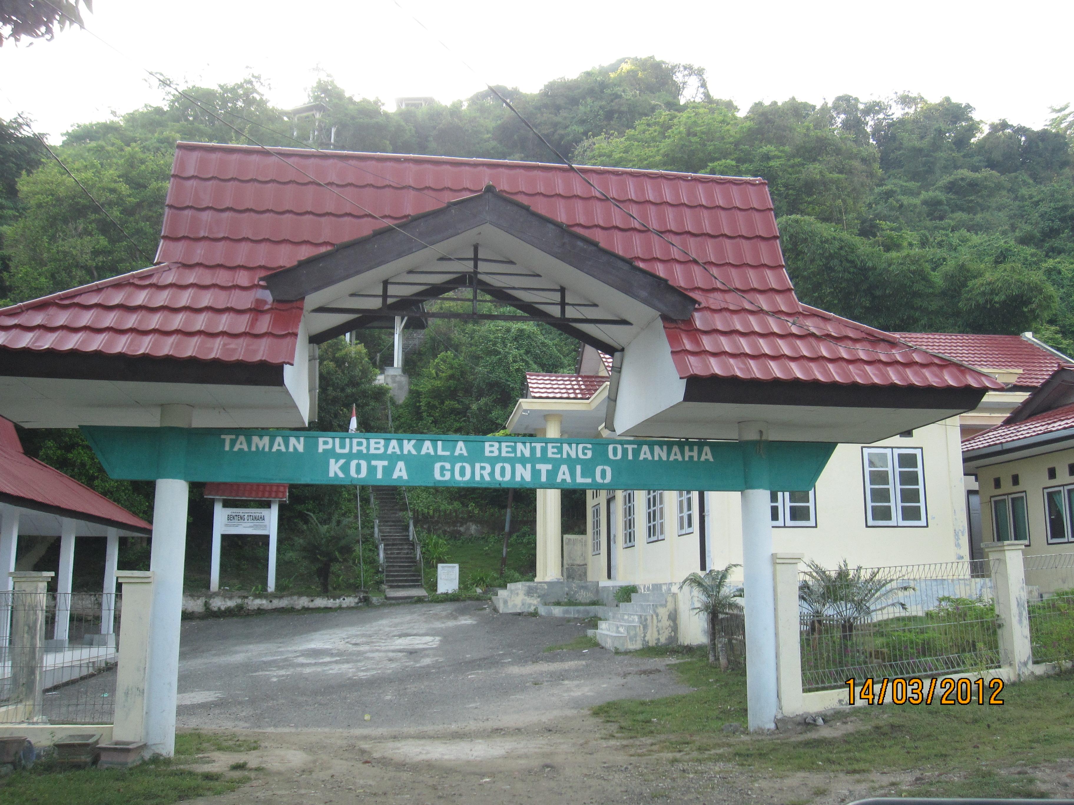 Gorontalo Thepower Ofwords Gerbang Masuk Benteng Otanaha Kab
