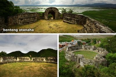 Jelajahi Benteng Otanaha Gorontalo Plh Indonesia Setelah Perut Terisi Team