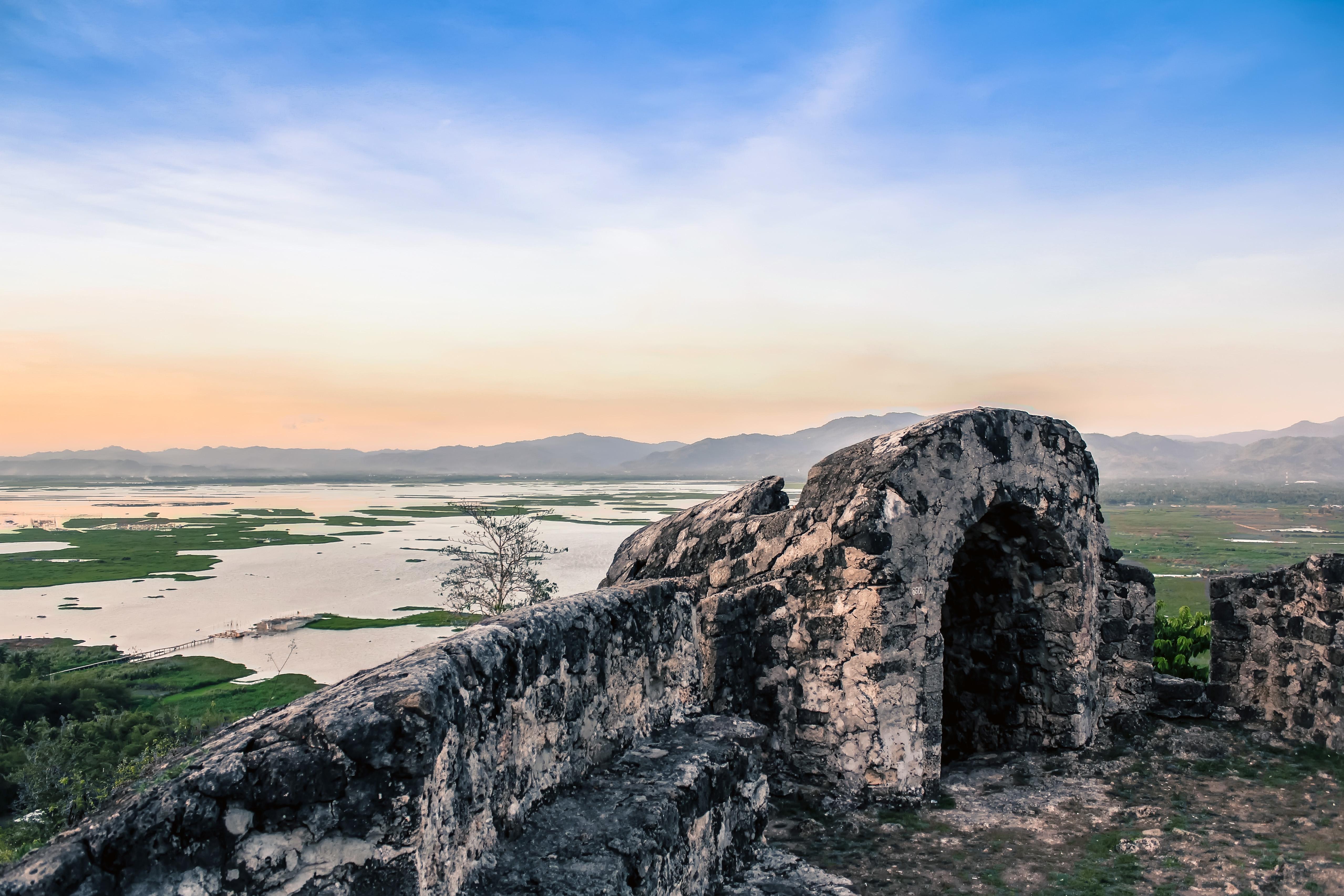 Melihat Indahnya Gorontalo Ketinggian Benteng Otanaha Ulinulin Panorma Kab