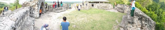 Menyusuri Benteng Otanaha Gorontalo Tora Bastem Lokasi Bangunan Bukit Sebetulnya