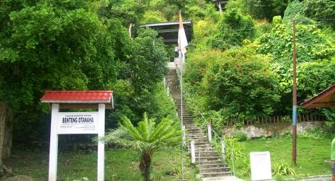 Wisata Sejarah Benteng Otanaha Gorontalo Aneka Nusantara Kab