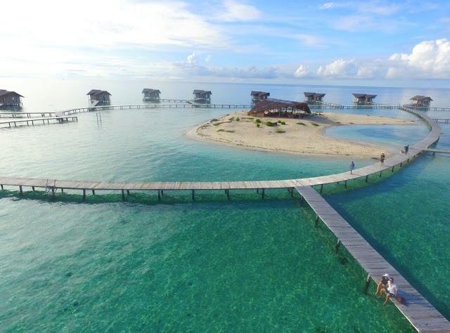 31 Tempat Wisata Gorontalo Wajib Dikunjungi Pulau Cinta Desa Religi
