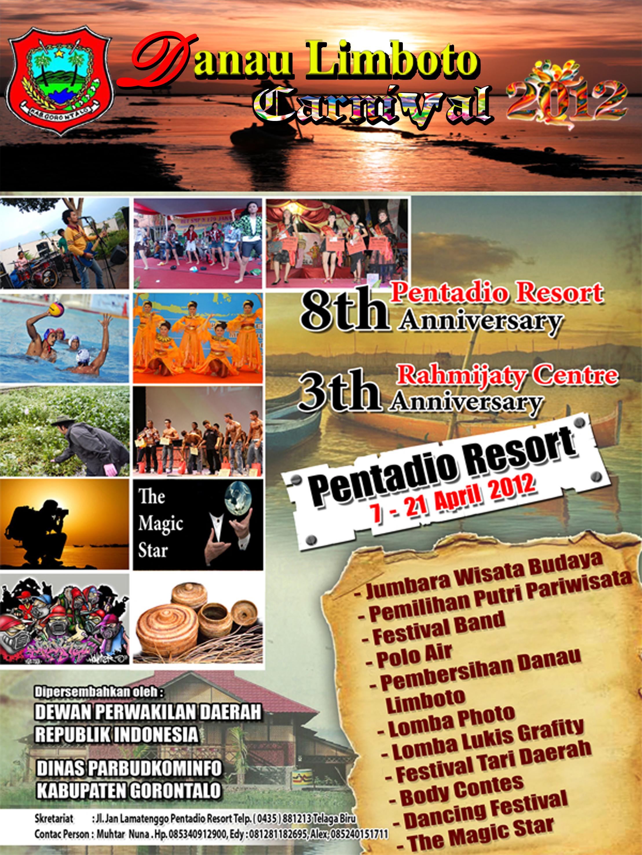 Danau Limboto Carnival 2012 Dinas Pariwisata Kebudayaan Komunikasi Desa Wisata