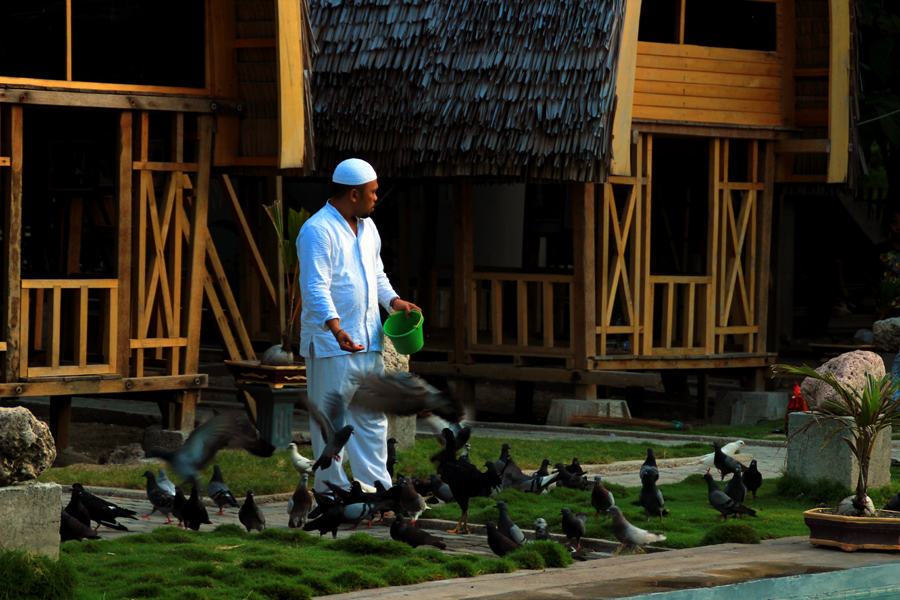 Desa Bongo Gorontalo Mata Kameraku Setelah Memasuki Pintu Gerbang Wisata