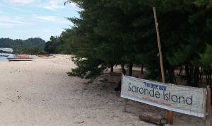 Lintas Gorontalo Berita Informasi Pulau Saronde Surganya Wisata Desa Religi