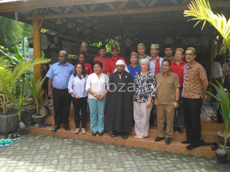 Mimoza Tv Desa Religi Jadi Lokasi Pertama Kunjungi Rombongan Kab