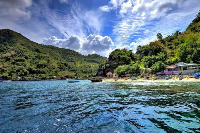 Tempat Wisata Gorontalo Membahas Laut Pulau Taman Olele Berlokasi Desa