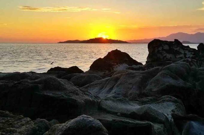 Tempat Wisata Gorontalo Objek Pantai Terakhir Mananggu Berlokasi Boalemo Karakteristik