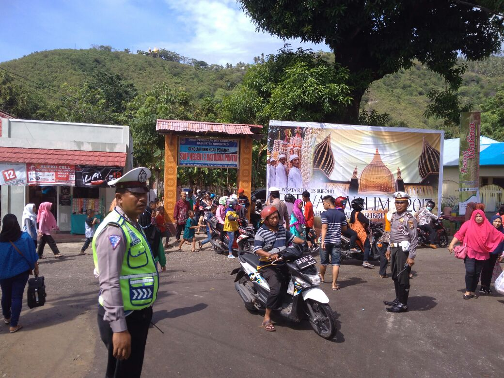 Tr Polres Gorontalo Amankan Festival Walima 2017 Dipusatkan Bongo Batudaa