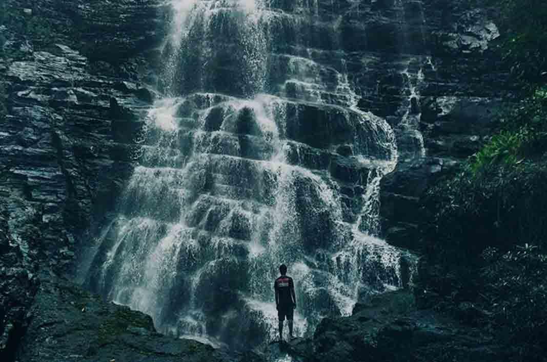 Wisata Gorontalo Rekan Terdapat Air Terjun Didingga Berlokasi Desa Kecamatan
