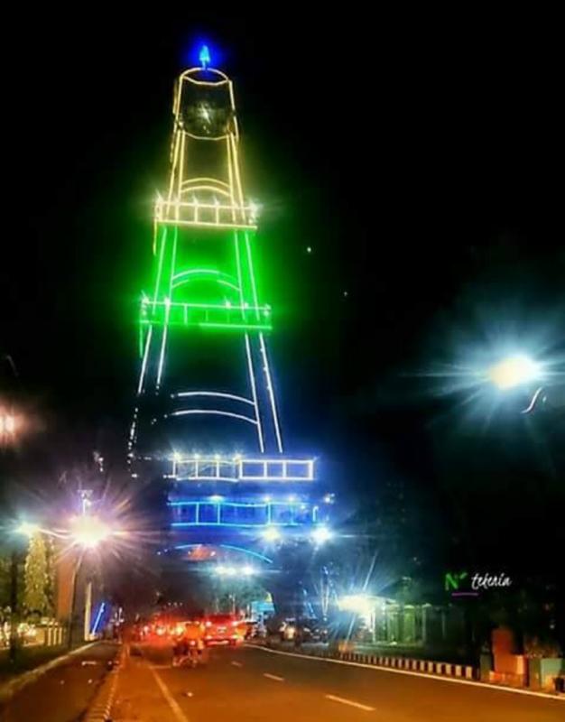 5 Destinasi Wisata Menarik Gorontalo Tips Pakaya Tower Limboto Terletak