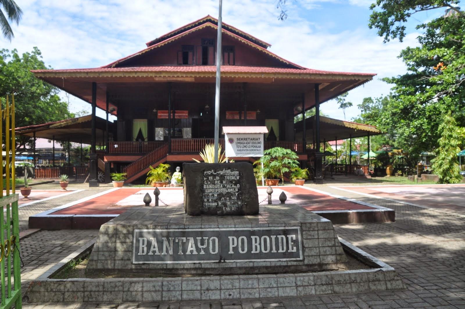 Kecamatan Limboto Keberadaan Rumah Adat Disebut Bantayo Po Boide Kabupaten