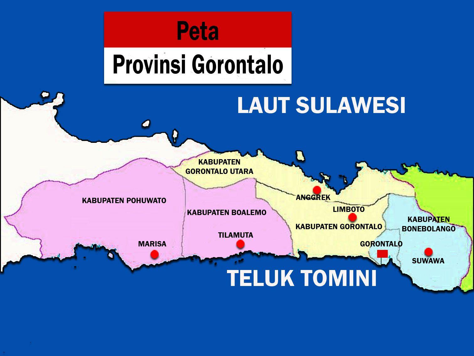 Kumpulan Tempat Wisata Gorontalo Wajib Dikunjungi Gambar Peta Lengkap Terbaru