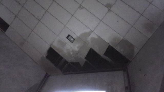 Kurang Perawatan Plafon Menara Limboto Rusak Hargo Kondisi Pakaya Tower