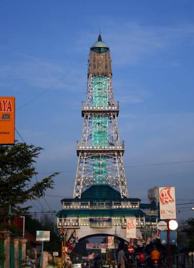 Menara Keagungan Limboto Dinas Pariwisata Kebudayaan Komunikasi Pakaya Tower Kab