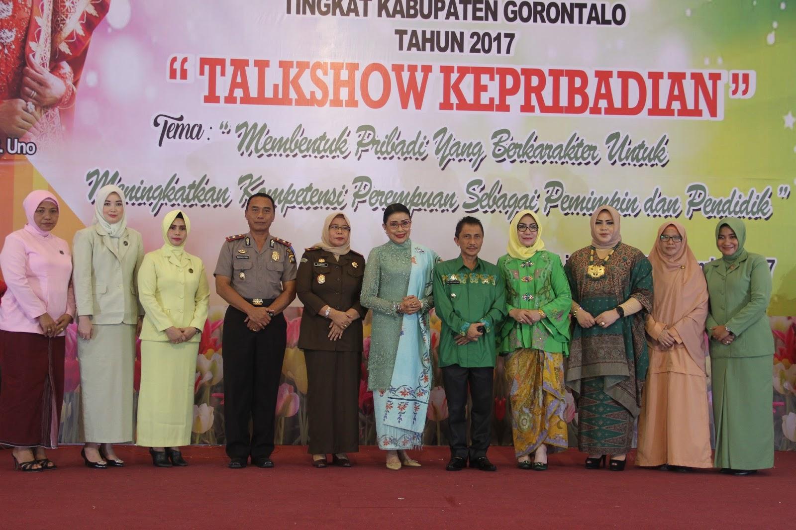 Nafascita Hut Dharma Wanita Hari Ibu Tingkat Kabupaten Limboto Perayaan