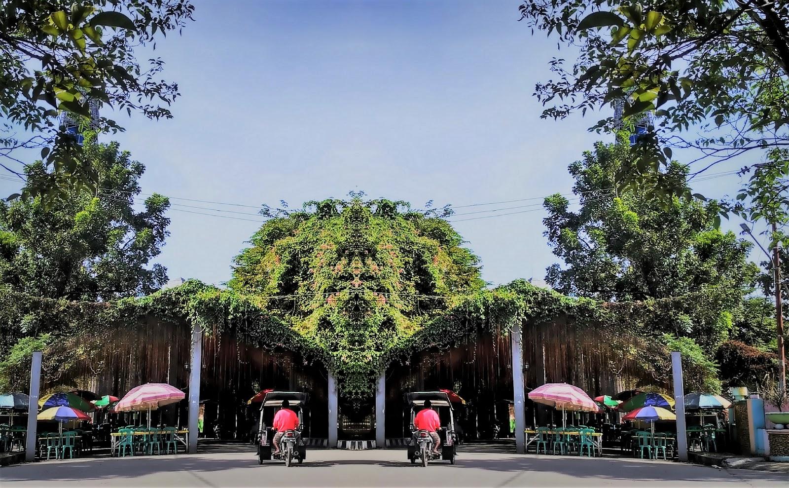 Taman Menara Limboto Seputaran Pakaya Tower Kab Gorontalo