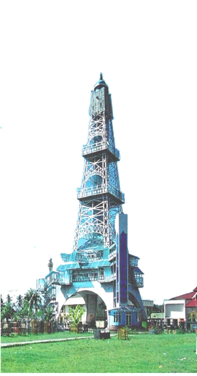 Tourims Place Greatness Tower Limboto Built 2002 Cost 8 6