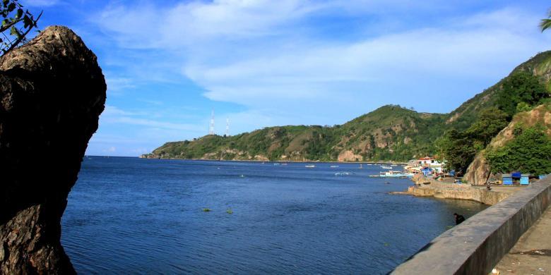 Blogwelcome Obyek Wisata Pantai Pemerintah Kabupaten Pemkab Gorontalo Pasir Putih