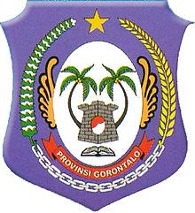 Gorontalo Wikipedia Bahasa Indonesia Ensiklopedia Bebas Lambang Provinsi Pantai Pasir