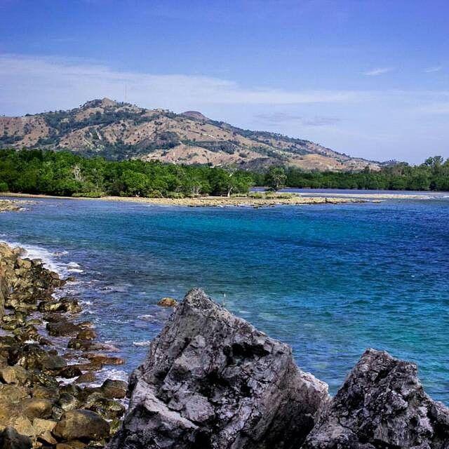 Lokasi Location Rewata Pamboang Majene Sulawesi Selatan Paradise Pantai Pasir