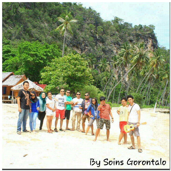 Mei 2015 Kakigatal Crew Soins Gorontalo Sesaat Sebelum Meninggalkan Pantai
