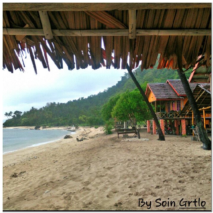 Mei 2015 Kakigatal Pemandangan Pantai Pondok Depan Cottage Pasir Putih