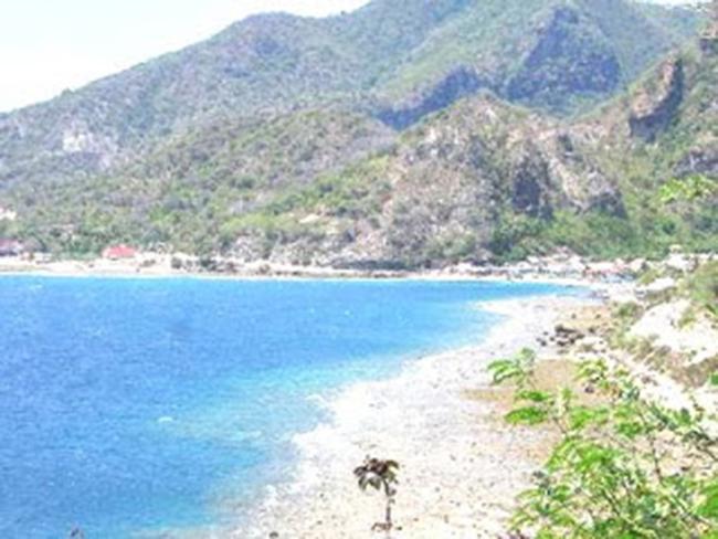Pantai Karang Citra Lahilote Pasir Putih Leato Kab Gorontalo