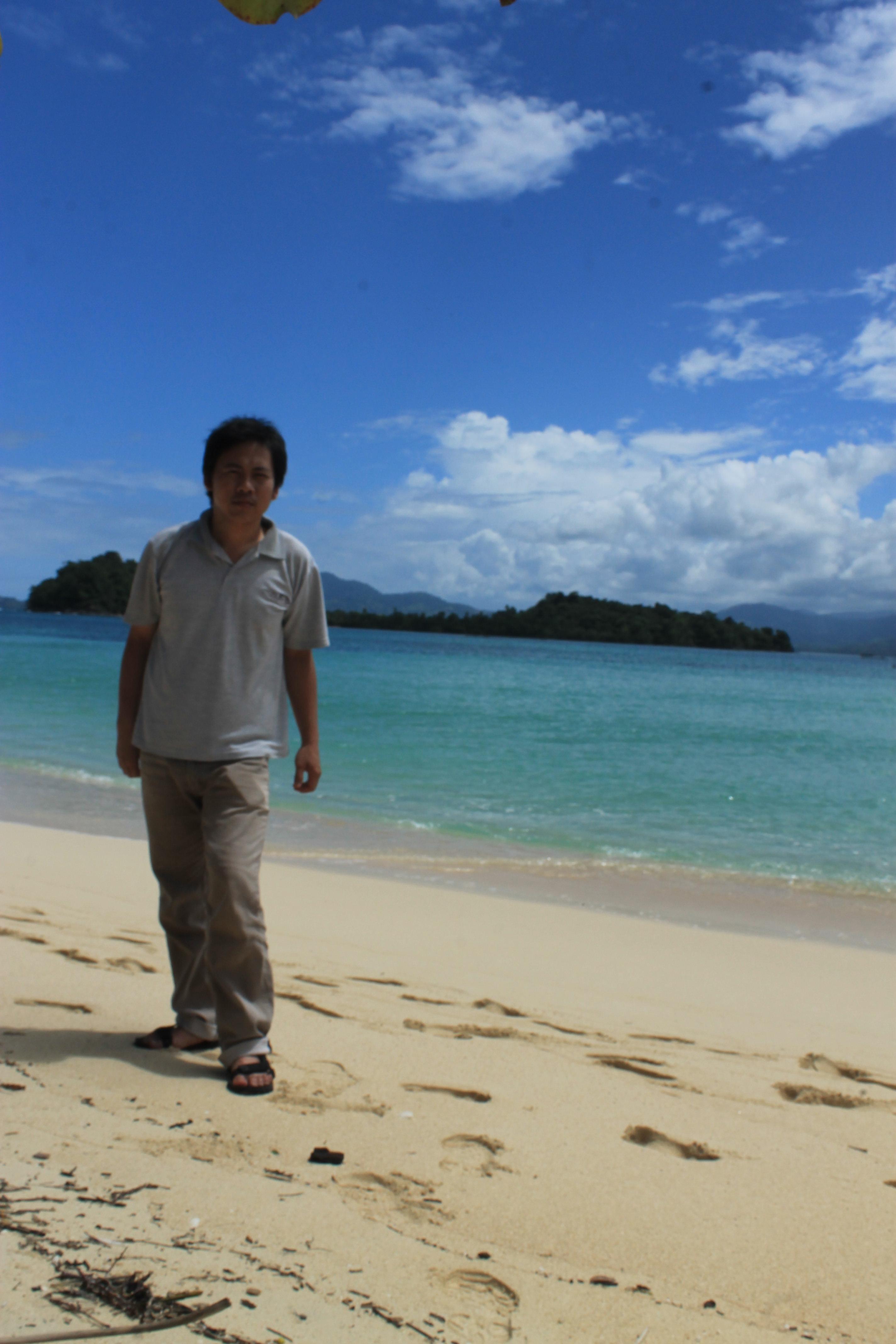 Pariwisata Christian Poluan Img 4034 4033 Pantai Pasir Putih Leato