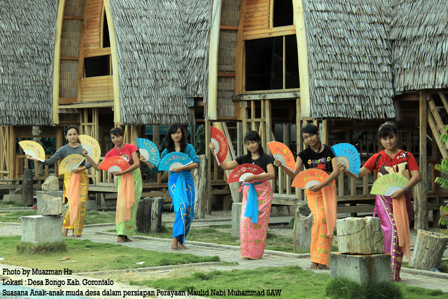 Yuk Gorontalo Destinasi Desa Bongo Adalaha Sebuah Kecil Berada Bagian