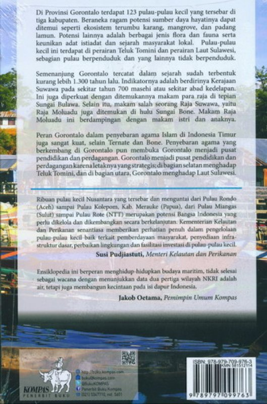 Bukukita Gorontalo Antara Teluk Tomini Laut Sulawesi Cover Kab