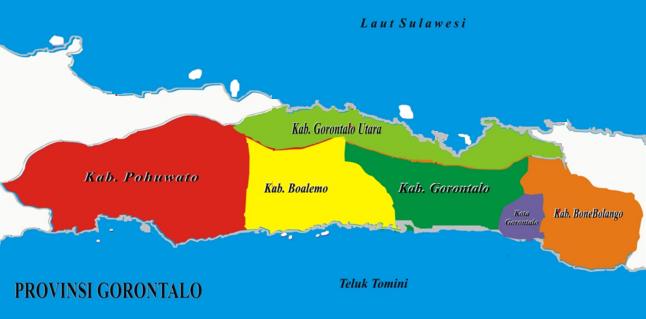Daftar Kabupaten Kota Provinsi Gorontalo Tentang Teluk Tomini Kab