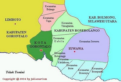 Info Gorontalo Profil Kabupaten Bonebolango Terbagi Menjadi 4 Kecamatan Ibukota