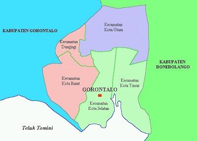 Info Gorontalo Profil Kota Salah Satu Wilayah Berbatasan Langsung Daerah