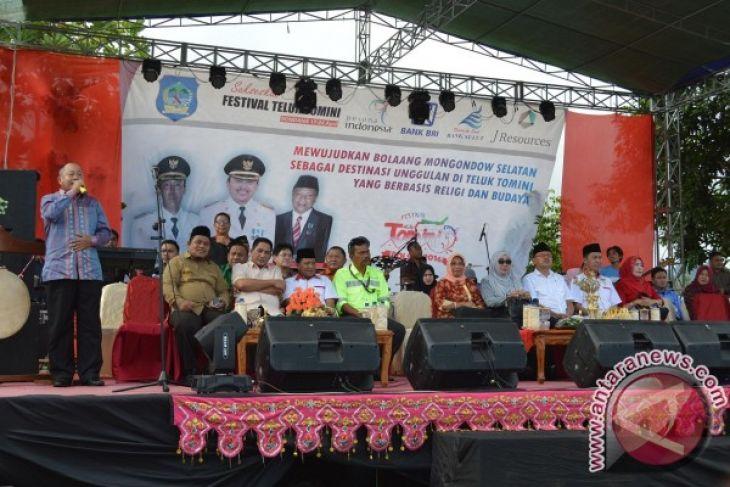Pemkab Bone Bolango Hadiri Festival Teluk Tomini Bolsel Antara Kab