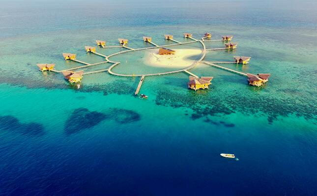 Pulau Cinta Gorontalo Destinasi Impian Romantis Boalemo Teluk Tomini Kab
