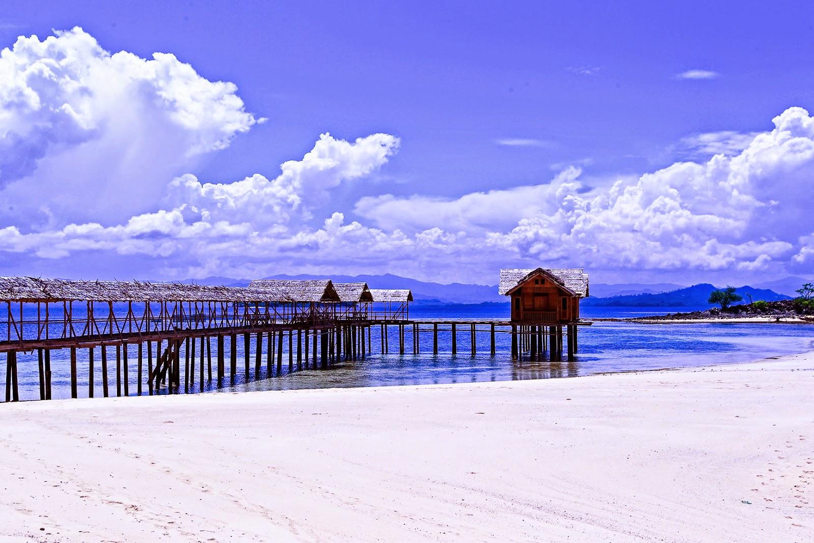 Tempat Wisata Gorontalo Pantai Terdapat Kabupaten Utara Kira 56 Km
