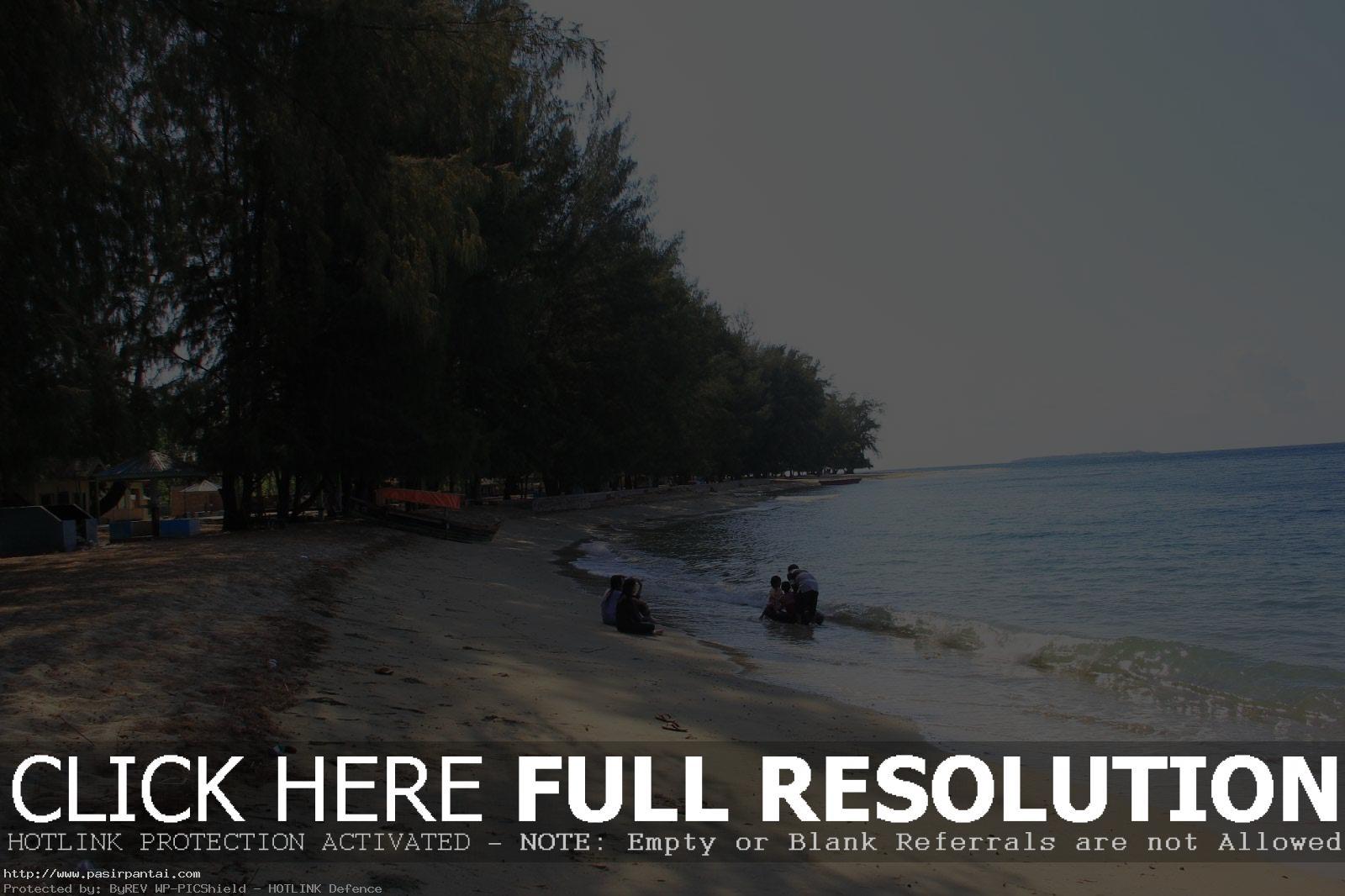 Wisata Pantai Balihutuo Pasirpantai Sulawesi Utara Bolihutuo Pesisir Teluk Tomini