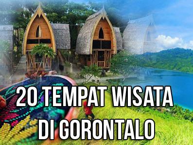 20 Tempat Wisata Gorontalo Terkenal Terbaik Wajib Dikunjungi Rumah Adat