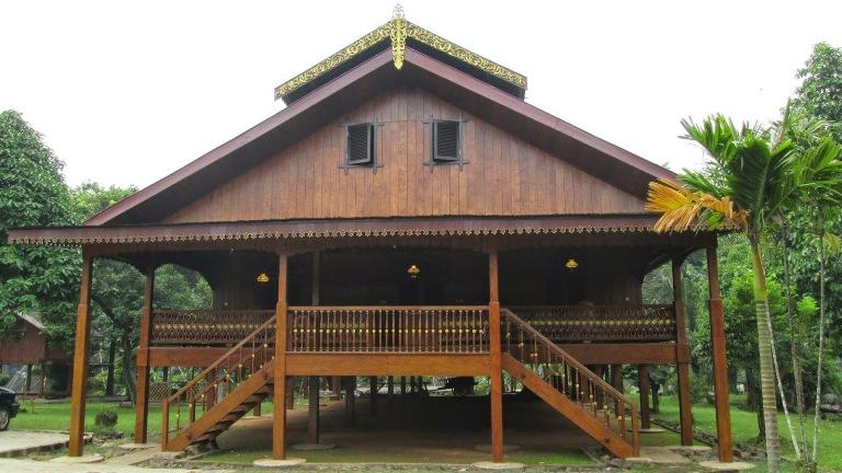 Contoh Desain Rumah Adat Gorontalo Dulohupa Wisata Kab