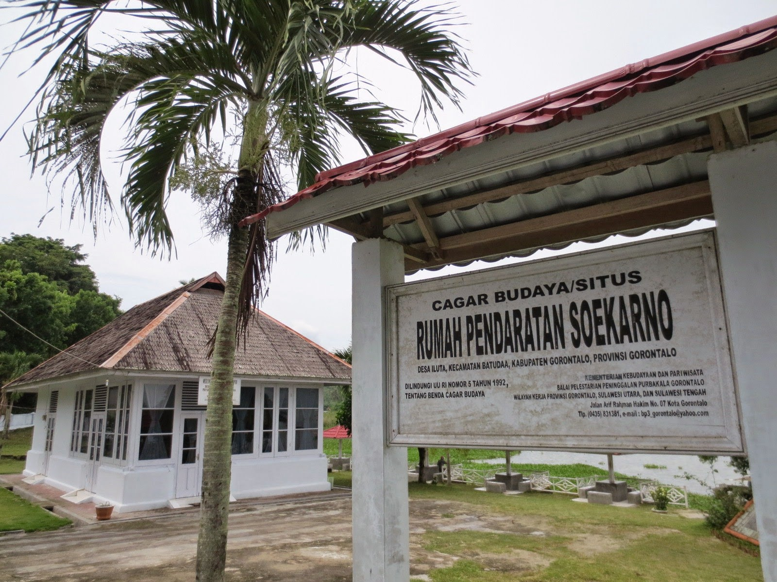Gorontalo Tour Pendaratan Soekarno Wisata Rumah Adat Kab