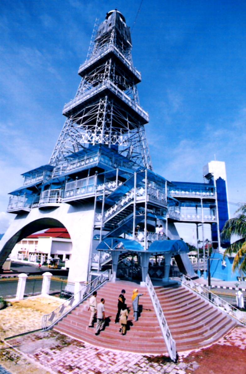 Menara Keagungan Limboto Dinas Pariwisata Kebudayaan Komunikasi Terletak Jantung Ibukota