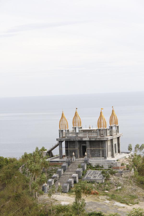 Obyek Wisata Gratis Seputaran Kota Gorontalo Desa Masjid Walima Emas