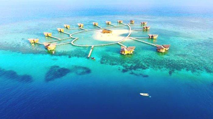 Pulau Cinta Destinasi Eksotis Pariwisata Gorontalo Tribunnews Wisata Rumah Adat