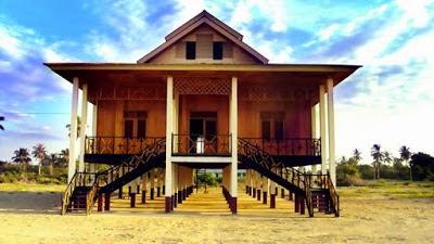 Rumah Adat Gorontalo Pesona Wisata Indonesia Kab