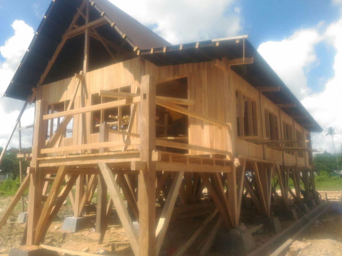 Rumah Adat Gorontalo Wikipedia Denah Keunikan Sulawesi Utara Wisata Kab