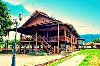 Rumah Adat Sulawesi Utara Wisata Gorontalo Kab